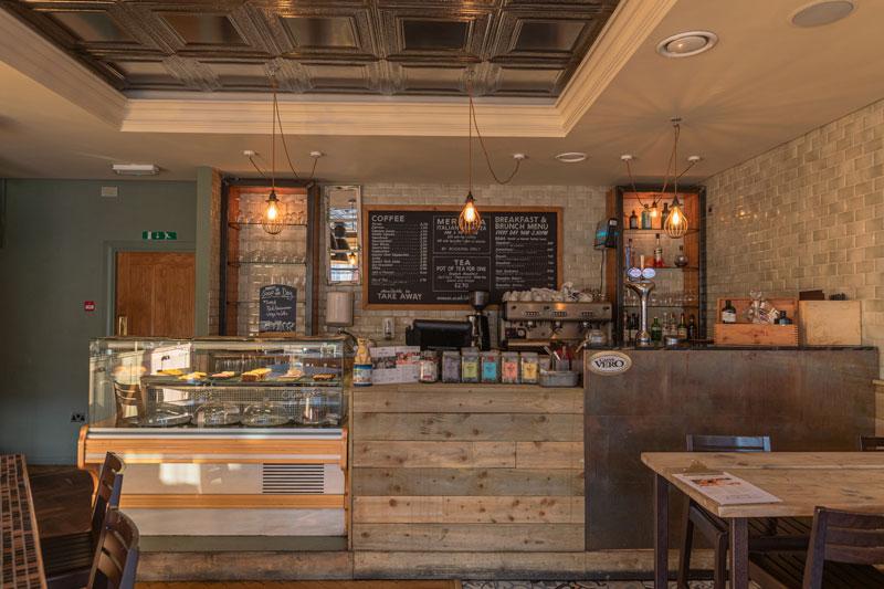 coffee shop Chesterfield restaurant