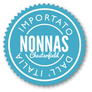 Nonnas Italian restaurant Chesterfield stamp