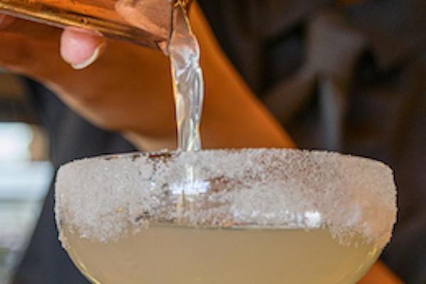 cocktail menu Nonnas Chesterfield